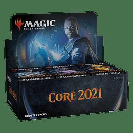 Cajas de sobres Core Set 2021 (Español)