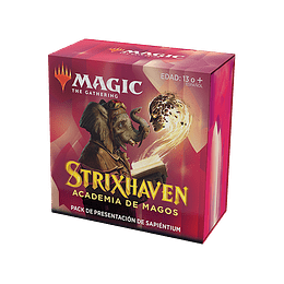 Pack Presentación Strixhaven - Sapiéntium (Inglés)