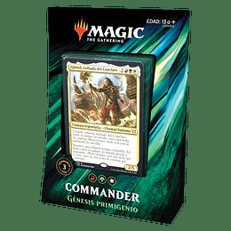 Commander 2019 - Génesis Primigenio (Inglés)