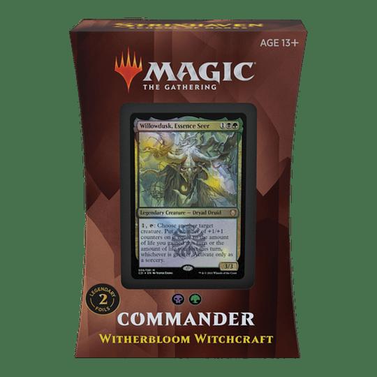 Commander 2021 - Brujería de Flosmarcitus (Inglés)