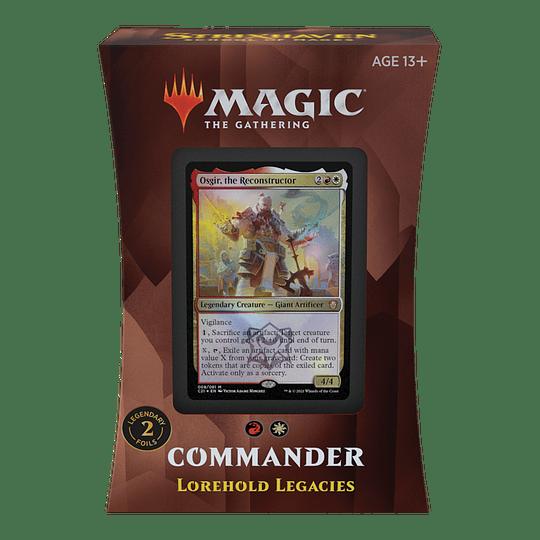 Commander 2021 - Legados de Sapiéntium (Inglés)