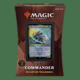 Commander 2021 - Quántum de Quádrix (Inglés)