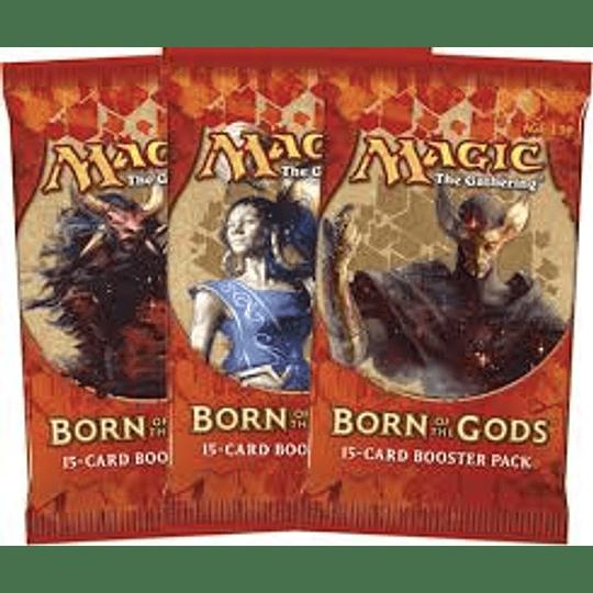 Sobre Nacido de los Dioses - Born of the Gods (Español)