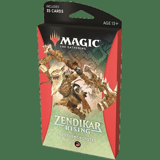 Zendikar Rising Theme Booster Pack - Red