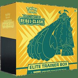 Elite Trainer Box - S&S Rebel Clash (Inglés)
