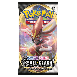 Sobre Pokémon - Sword & Shield Rebel Clash (Inglés)