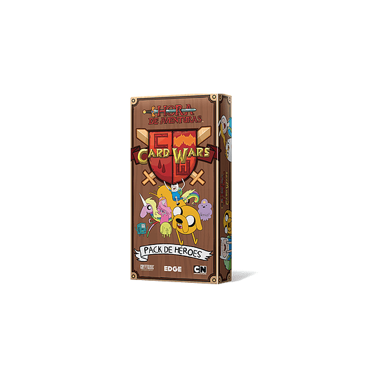 Card Wars: Pack de Héroes 1 (Español)