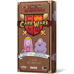 Card Wars: Princesa Chicle contra Princesa del Espacio (Español)