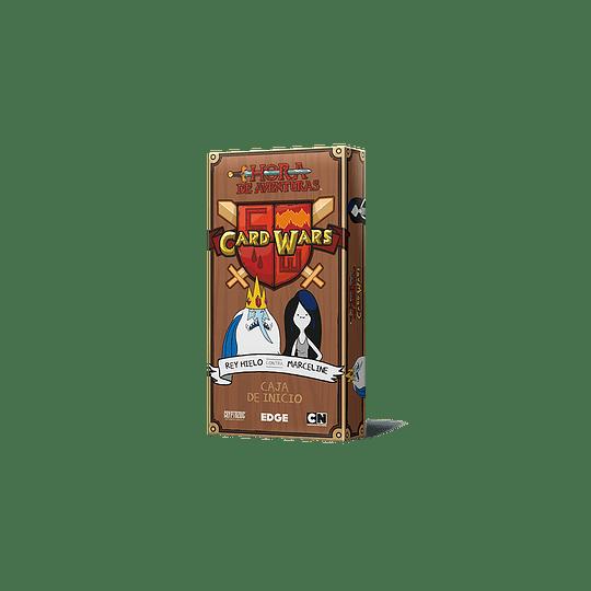 Card Wars: Rey Hielo vs Marceline (Español)