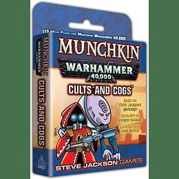 Munchkin Warhammer 40k: Cults and Cogs (Inglés)