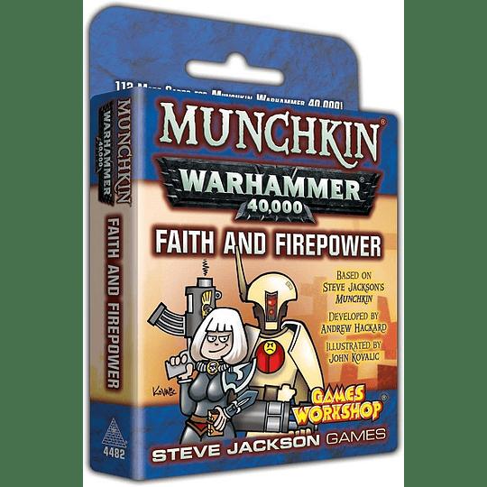 Munchkin Warhammer 40k: Faith and Firepower Expansion (Inglés)