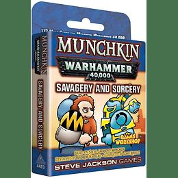 Munchkin Warhammer 40k: Savagery and Sorcery (Inglés)