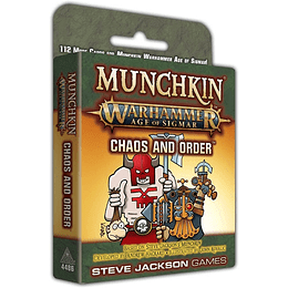 Munchkin Warhammer Age of Sigmar: Chaos and Order (Inglés)