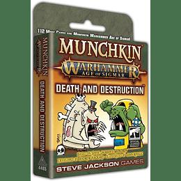 Munchkin Warhammer Age of Sigmar: Death and Destruction (Inglés)