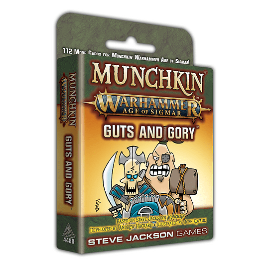 Munchkin Warhammer Age of Sigmar: Guts and Gory (Inglés)