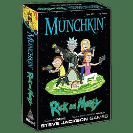Munchkin: Rick And Morty (Inglés)