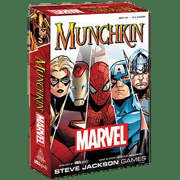 Munchkin: Marvel Edition (Inglés)