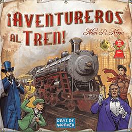 Aventureros al Tren (Ticket to Ride): USA (Español)