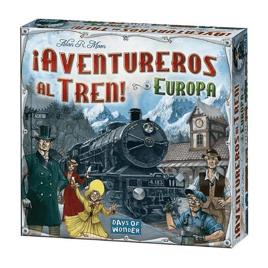 Aventureros al Tren (Ticket to Ride): Europa (Español)
