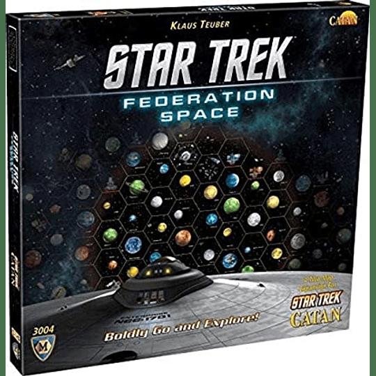 Catan: Star Trek Federation Space (Expansión)(Inglés)