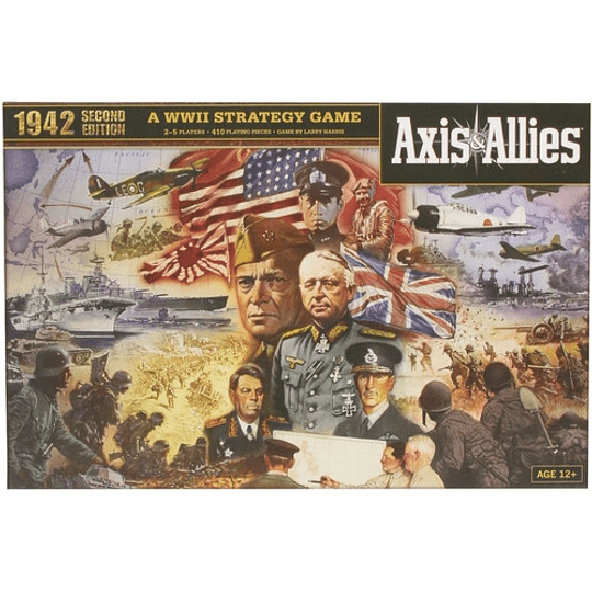 Jah Axis & Allies 1942 (2nd Edition)