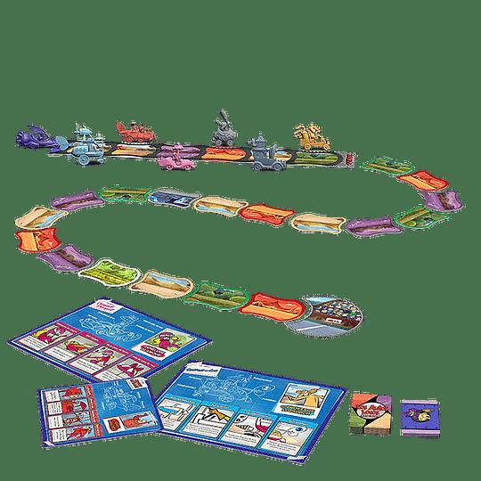 Los Autos Locos El juego de tablero (Español)