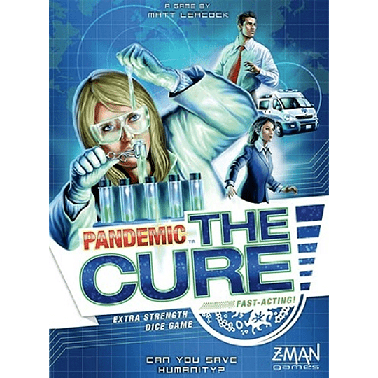 Pandemic: The Cure (Ingles)