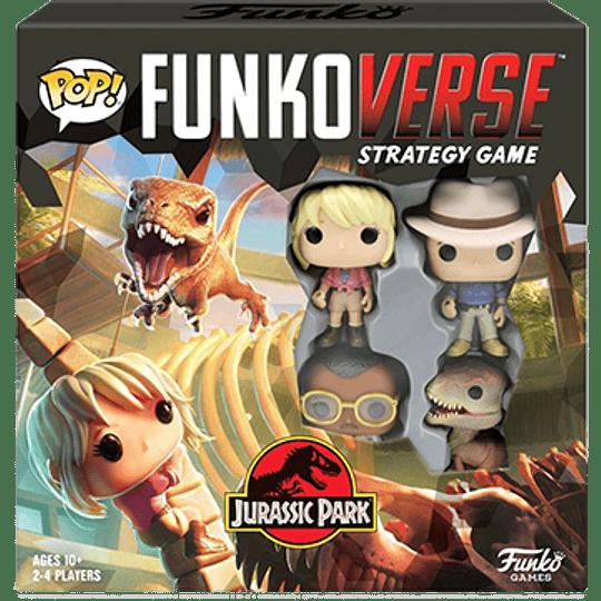 Pop! Funkoverse: Jurassic Park (Inglés)