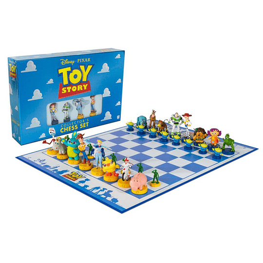Toy Story Collector's Edition Chess Set (Ajedrez)