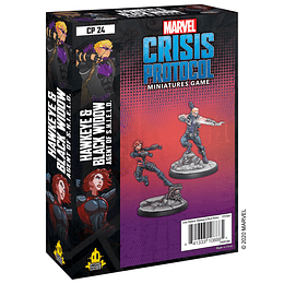Marvel Crisis Protocol: Hawkeye and Black Widow Character Pack