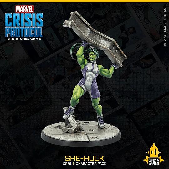 Marvel Crisis Protocol: She-Hulk Character Pack