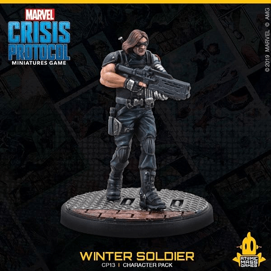 Marvel Crisis Protocol: Vision and Winter Soldier Character Pack