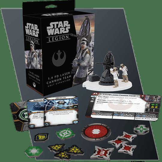 Star Wars Legion: 1.4 FD Laser Cannon Team (Ingles)