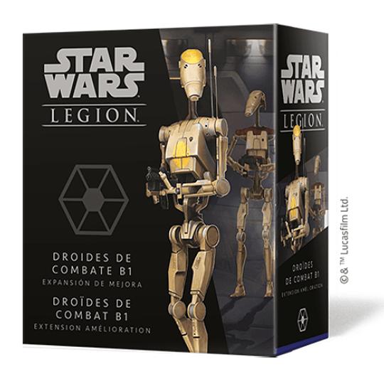Star Wars Legion: Droides de combate B1 Expansión de Mejora (Español)