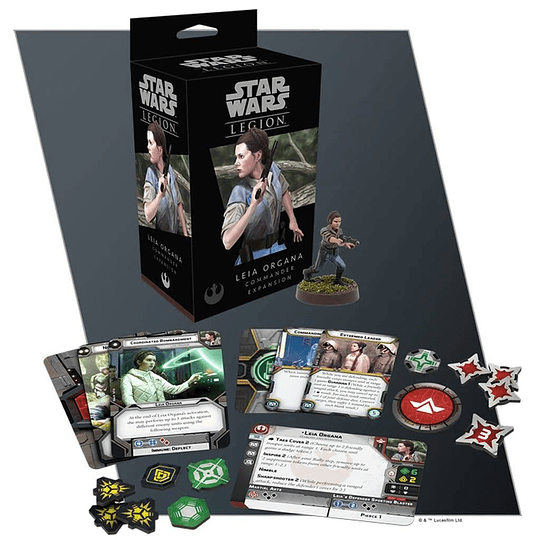 Star Wars Legion: Leia Organa (Inglés)