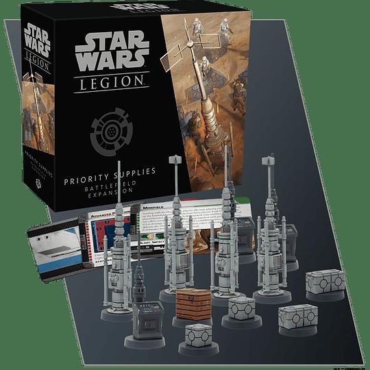 Star Wars Legion: Priority Supplies (Ingles)