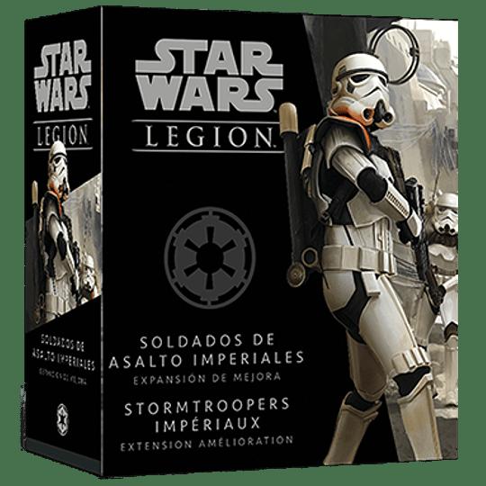 Star Wars Legion: Soldados de Asalto Imperiales Expansión de Mejora (Español)