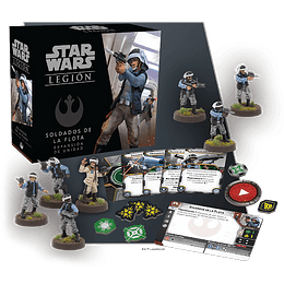 Star Wars Legion: Soldados de la Flota (Inglés)