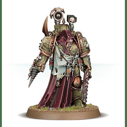Death Guard: Nauseous Rotbone, the Plague Surgeon