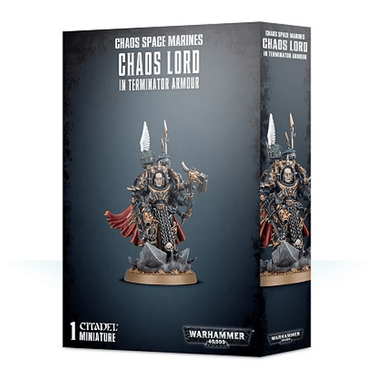 Chaos Space Marines: Terminator Lord