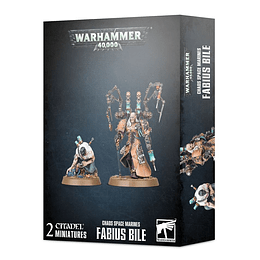 Chaos Space Marines: Fabius Bile