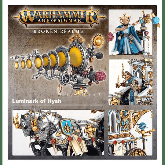 Broken Realms: Arcobalde Lazerne - Xintil War-Magi