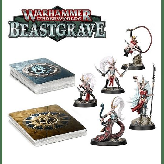 Warhammer Underworlds: Beastgrave: Pacto Afilado De Morgwaeth - Morgweath's Blade-Coven (Español)