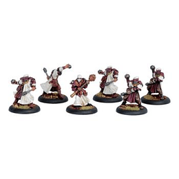 Warmachine: Protectorate Unit - Holy Zealots (Metal)