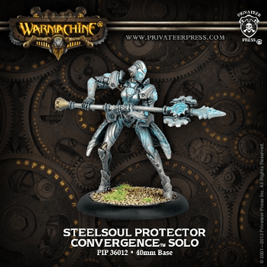 Warmachine: Convergence Solo - Steelsoul Protector (Metal)