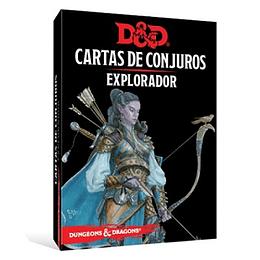Dungeons & Dragons - Calabozos y Dragones: Cartas de conjuro/Explorador (Español)