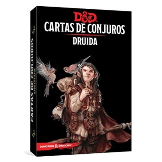 Dungeons & Dragons - Calabozos y Dragones: Cartas de conjuro/Druida (Español)