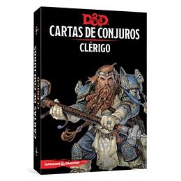 Dungeons & Dragons - Calabozos y Dragones: Cartas de conjuro/Clérigo (Español)