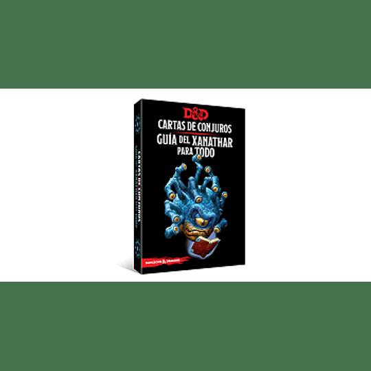 Dungeons & Dragons - Calabozos y Dragones: Cartas de conjuro/Guía del Xanathar para Todo (Español)