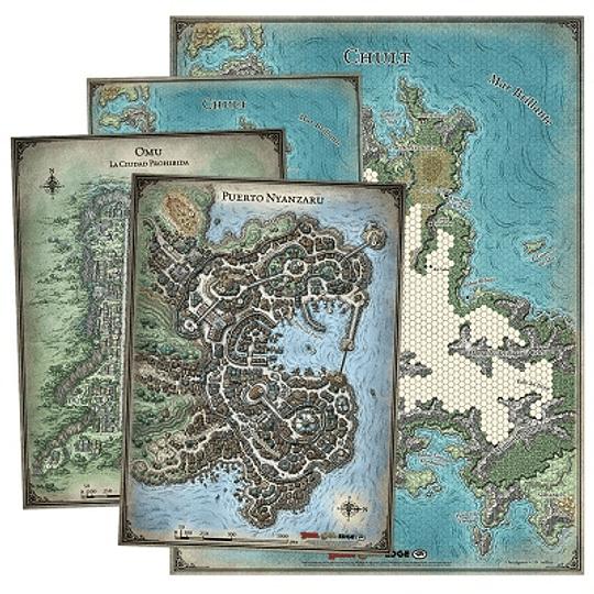 Dungeons & Dragons - Calabozos y Dragones: Set de mapas de la Tumba de la Aniquilación